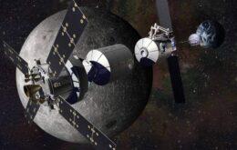 Estados Unidos e Rússia se unem para criar base na órbita da Lua