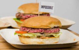 Probamos la 'hamburguesa imposible', hecha con carne vegetal