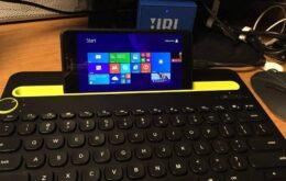 Usuários conseguem rodar versões de PC do Windows em celulares Lumia