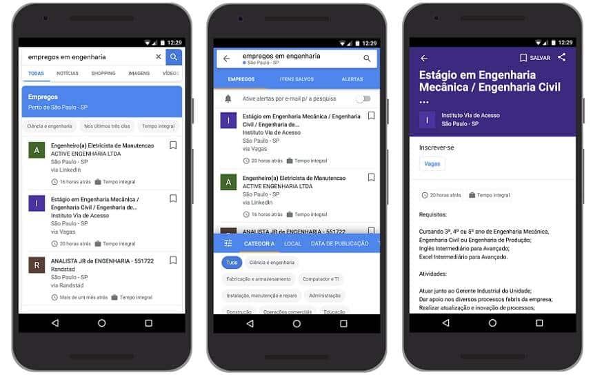 Agora dá para encontrar emprego pelo Google; veja como - Olhar Digital