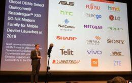 Primeiros smartphones e redes 5G do mundo chegam em 2019