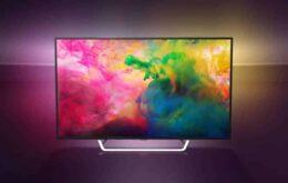 Philips relança TVs Ambilight no Brasil por até R$ 6.000