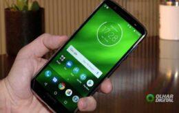 Moto G6 Plus começa a receber atualização para o Android Pie