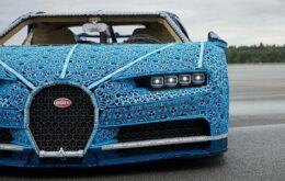 Lego usa un millón de piezas para construir una réplica funcional del Bugatti Chiron