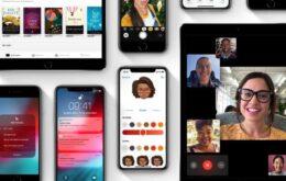 Apple libera iOS 12.1.3 e outras atualizações com correções de erros