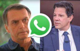 Corrente anti-PT no WhatsApp foi paga por empresas pró-Bolsonaro, diz jornal