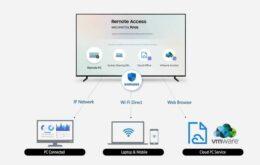 Novas Smart TVs da Samsung poderão controlar PCs e smartphones à distância