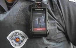 Sistema de câmeras no uniforme de policiais será implantado em SP
