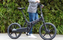 Bicicleta dobrável faz sucesso nos EUA
