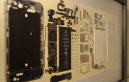 Transforme seu iPhone 5 em um quadro decorativo