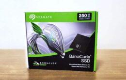 Review do SSD Seagate Barracuda de 250 GB: alto desempenho e preço acessível