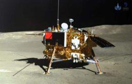 Sonda chinesa encontra minerais incomuns na superfície oculta da Lua