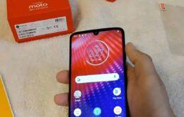 Amazon vendeu um Moto Z4 antes de a Motorola lançar o celular