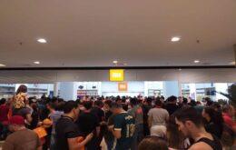 Inauguração da primeira loja oficial da Xiaomi no Brasil atrai milhares de pessoas