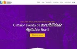 Maior encontro de acessibilidade digital do país acontece em agosto