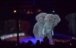 Circo aposenta animais de verdade e troca por holografias