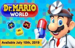Nintendo apresenta novo trailer de Dr. Mario World para Android e iOS