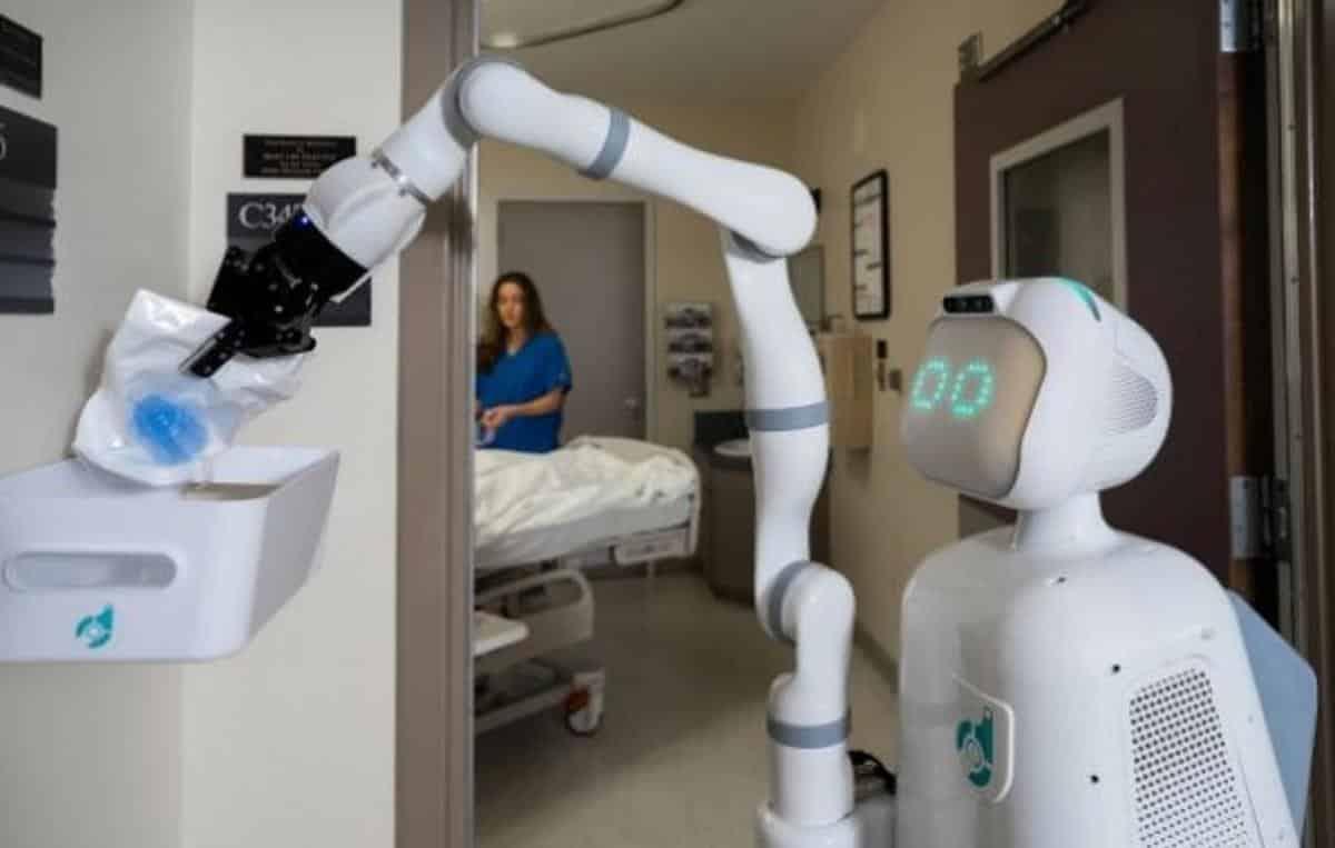 Hospital nos EUA ganha robô para ajudar enfermeiros; conheça o Moxi - Olhar  Digital