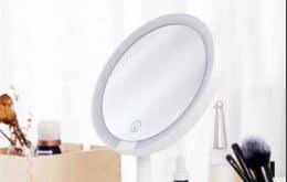 Xiaomi lanza espejo de maquillaje con pantalla táctil y lámparas LED