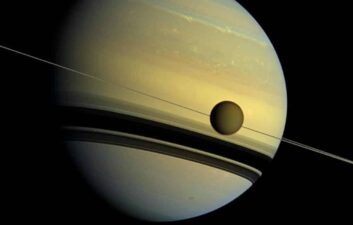 Titan, Saturn's largest moon, has lakes, mountains and dunes