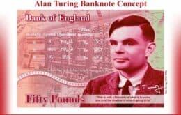 Alan Turing é o rosto da nova nota de £ 50 no Reino Unido