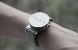 Conheça o relógio sul-coreano que exibe notificações para braile