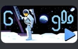 Doodle do Google homenageia pouso na Lua