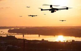 Vendas de drones aquecidas em 2020
