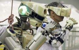 Espaçonave russa com robô humanoide não consegue completar missão