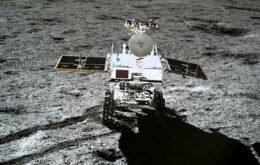 Sonda chinesa encontra substância similar a um gel na superfície da Lua