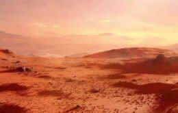 Nasa registra terremotos em Marte