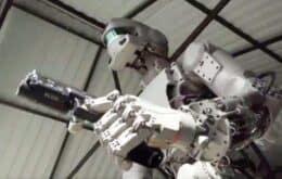 Missão espacial russa com robô humanoide tem sucesso