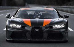 Bugatti quebra o recorde de velocidade com um carro comercial