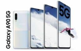 Samsung Galaxy A90 5G pode ser smartphone 5G mais barato do mercado