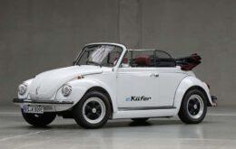 Volkswagen vai converter Fuscas antigos em carros elétricos