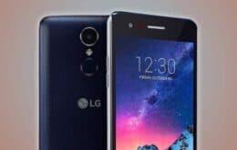 LG lança no Brasil o K8+, seu primeiro celular com Android Go