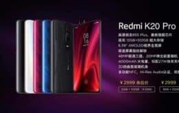 Redmi K20 Pro Premium Edition tem processador Snapdragon 855 Plus