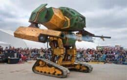 Robô de combate de 15 toneladas está à venda no Ebay