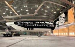 Latam revela avião inspirado em Star Wars com vôos saindo de São Paulo