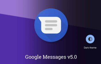 Google Messages adota modo escuro