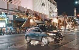 Pruebas con autos autónomos en Las Vegas