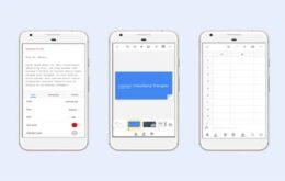 Aplicativos do Google ganham novo visual no Android