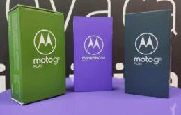 Motorola anuncia 4 novos smartphones