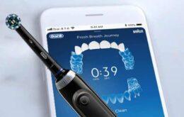 Oral-B lança escova de dentes com inteligência artificial