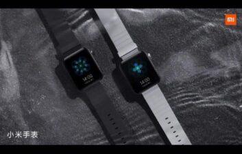 Xiaomi lanza videos de Mi Watch en funcionamiento