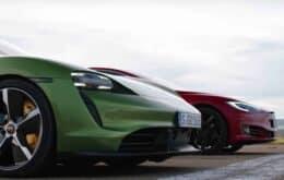 Tesla versus Porsche: qual elétrico topo de linha leva a melhor?