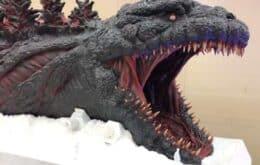 Parque japonês terá escultura de Godzillla em tamanho real