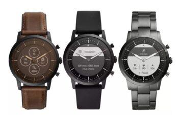 El reloj inteligente Fossil se 'disfraza' de reloj analógico