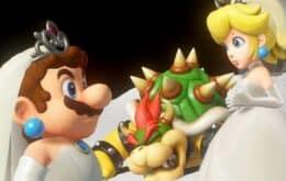 Homem pede namorada em casamento usando Super Mario Maker 2