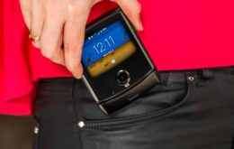 Motorola Razr dobrável chega às lojas em fevereiro